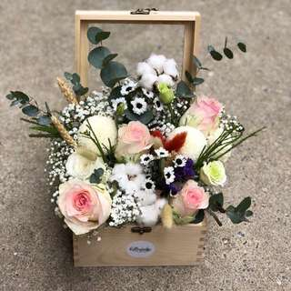 Customize bloombox, flowers bed
