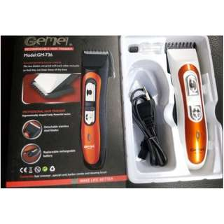 (BNIB) GEMEI / SPORTSMAN Professional Cordless Hair Trimmer (Brand New Boxed)