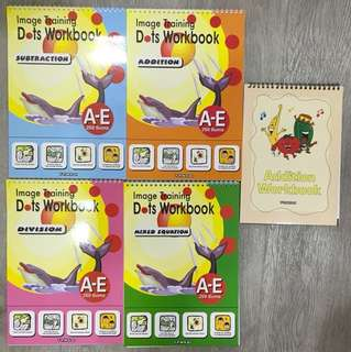 Tensai Image Training Dots Workbooks
