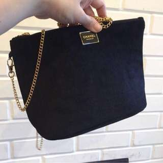 Chanel vip gift authentic sling bag