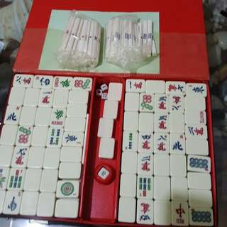 Mini mahjong set ( seldom used)