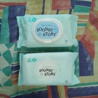 Baby Wet Wipes Soonsu Story (Korean)