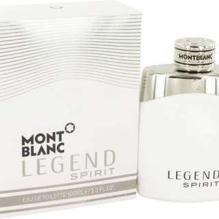Mont Blanc Legend Spirit 100ml EDT Spray