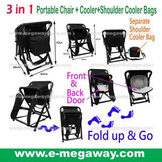 #Fishing #Camping #Camper #Hiking #Hiker #Black #Portable #Chair  #Backpack #Cooler #Folding #Lighted #Weight #Easy #Carry #Travel #Must-Have #Picnic @MegawayBags #Megaway #MegawayBags  #CC-1551-71702L #釣魚椅 #露營椅 #野餐椅子 #摺椅子 #旅行必備