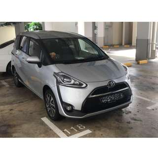 9H Ceramic Coating [Toyota Sienta]