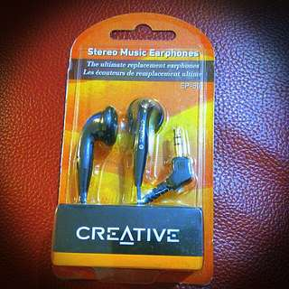 Creative Earphone.