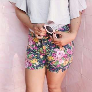 [REPRICE] Hotpant flower