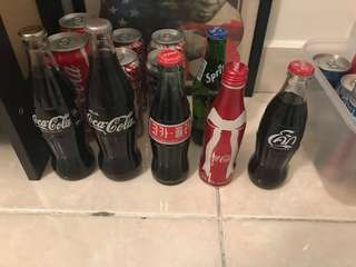 Coca Cola Coke bottles for sale