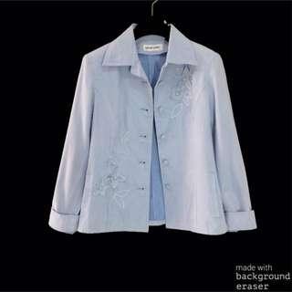 #SALE Blue kemeja blazer