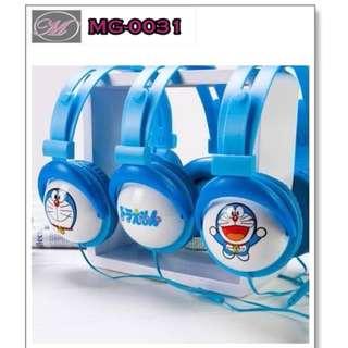 CODE: MG-0031 Doraemon Headphones with Mic