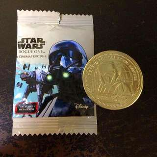 Star Wars : Rouge One Medallion