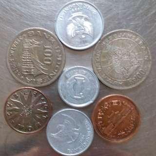 2粒日币5粒外币共售