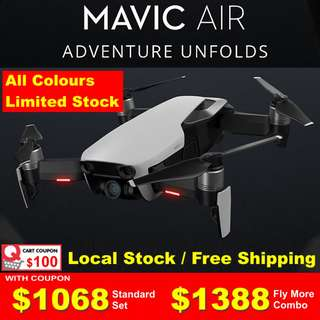 DJI MAVIC AIR (Limited Stock)