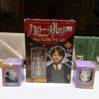 Harry Potter mug and figure