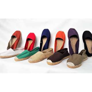 Classic Espadrille in summer colors