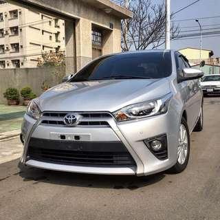 2015年 Toyota YARIS 1500cc I-key豪華版