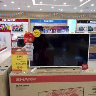 Tv Sharp bisa dicicil