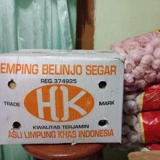 Emping belinjo besar besar asli renyah enak dan jelas khas Indonesia
