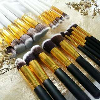 10 pcs Kabuki Brush Set