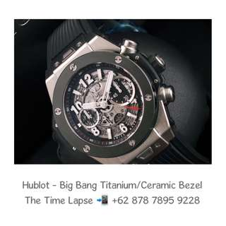 Hublot - Big Bang Unico Titanium / Ceramic Bezel