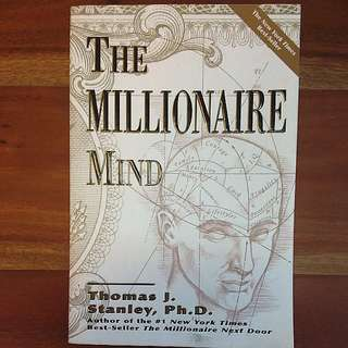 The Millionaire Mind by Thomas J. Stanley book
