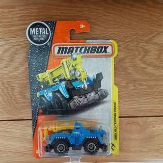 Matchbox All Terrain Crane
