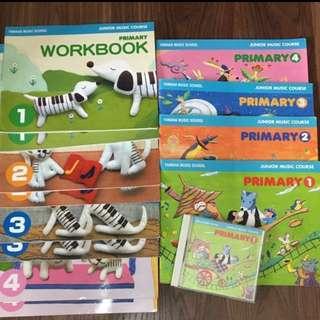 PL Yamaha JMC P1-4 Textbooks/Workbooks & P1 CD