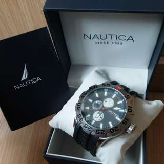 Nautica BFD 100 黑色男裝手錶