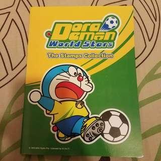 泰國 2014年世界盃紀念版郵票 叮噹 doraemon 哆啦a夢 多啦a夢