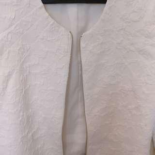 The Executive white jacket