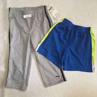 2T Jogger Pants and Shorts