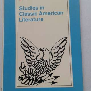 Studies in Classic American Literature, D. H. Lawrence, 1972, Good cond.