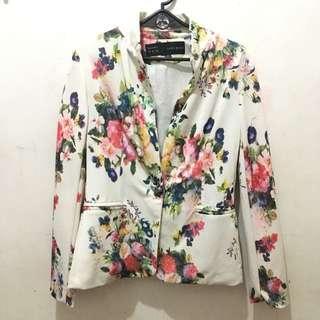 REPRICED Floral Blazer