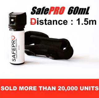SAFE Pro 60mL Pepper Spray