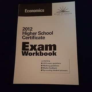 2012 HSC Exam Workbook