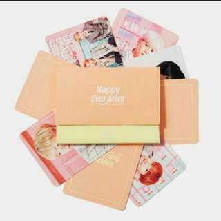 BTS 4th muster Mini photocard loose (incoming Readystock)