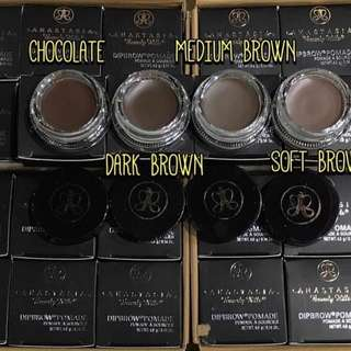 Anastasia Beverly Hills Dipbrow Pomade‼️FREE EYEBROW BRUSH‼️FREE NORMAL MAIL‼️