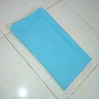 Pashmina bahan diamond warna biru muda