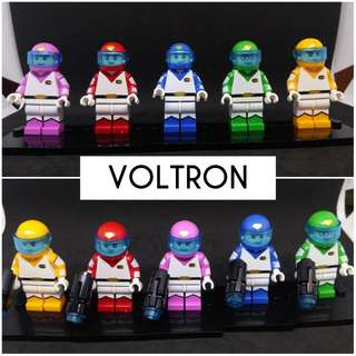 For Sale VOLTRON Custom Minifigures Complete 5 Characters