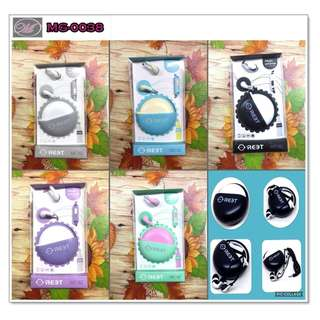 CODE: MG-0038 Fashion Earphones with Pouch