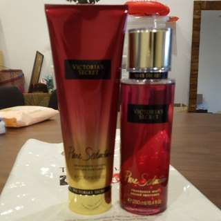 Victoria's Secret Fragrance Mist & Lotion in Pure Seduction