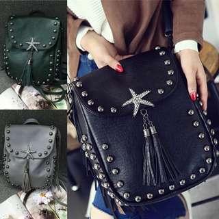 Tas Ransel Gendong Backpack Tas Fashion Wanita Cewek Impor Code 154