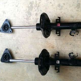 original nissan xtrail absorber + mounting