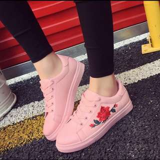 [PO] Korean embroidered shoes