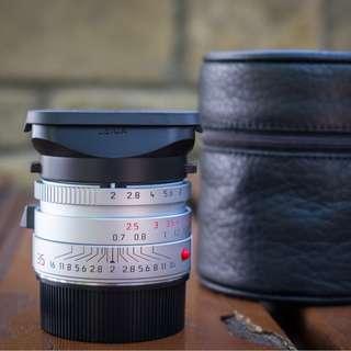 Leica 35mm Summicron ASPH Silver