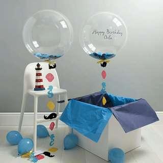 Birthday ballooon~suprise box