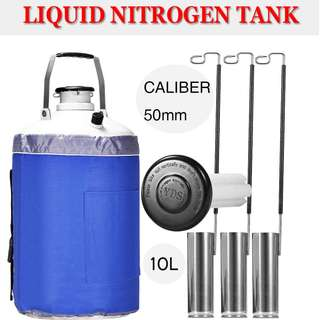 Portable 2L Liquid Nitrogen Storage Tank Static