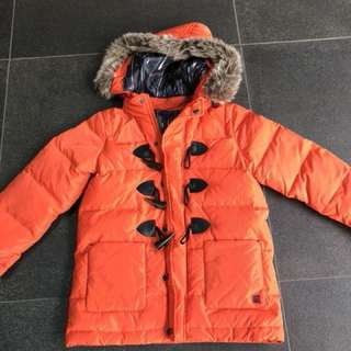 Boys' PAUL SMITH Junior Winter Duffle Jacket Size 6a