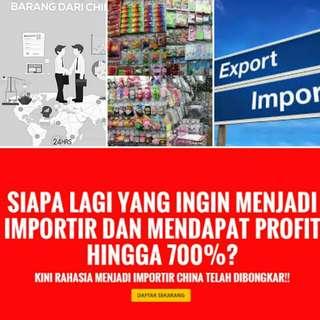 Cara Import export produk barang murah dari china untuk dijual di Indonesia dgn profit hingga 700%