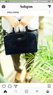 Box hand bag